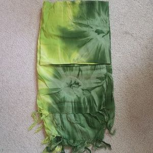 Tie dye sarong